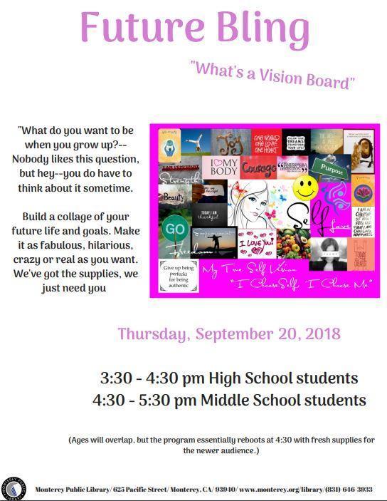 Teen Vision Board