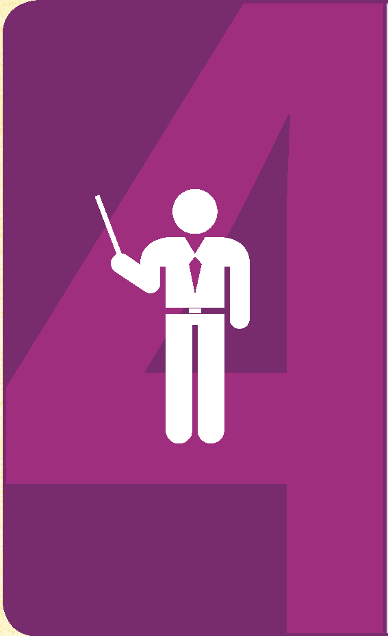 strategic goal 4 with instructor icon