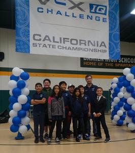 Robotics Team at State Championship