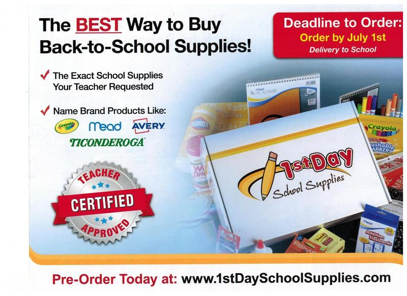 SJS School Supplies Featured Photo