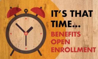 Open Enrollment - Sept. 21, 2020 - Oct. 16, 2020