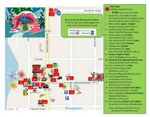 Map for Winter Fest