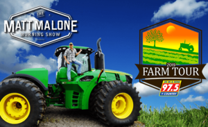 The Matt Malone Morning Show 2019 Farm Tour 20 in a row 97.5 Y Country