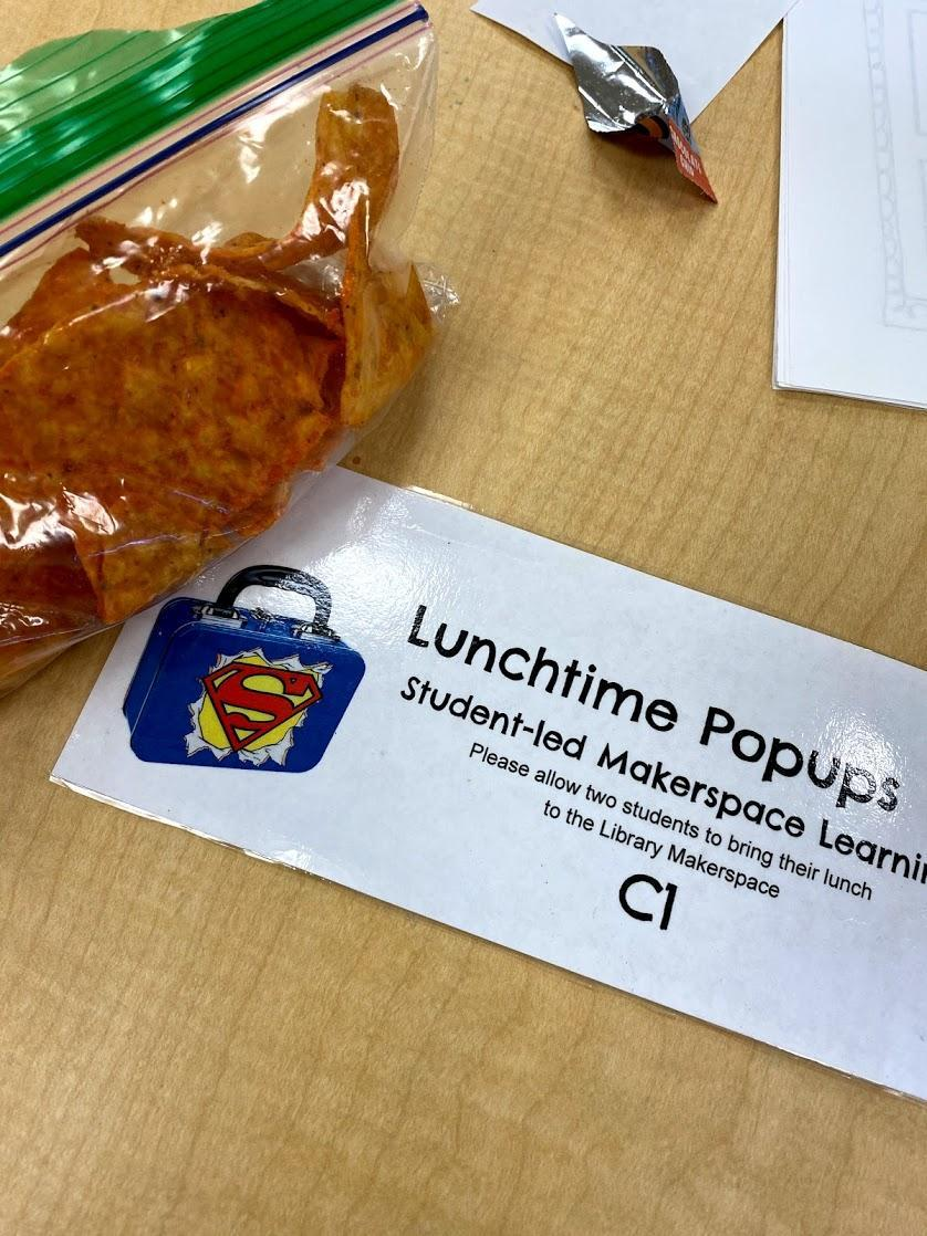 Lunch time popups!