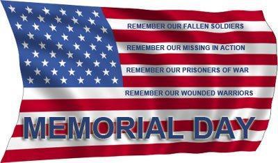 Memorial Day Holiday:  No classes on Monday, May 27, 2019 Thumbnail Image