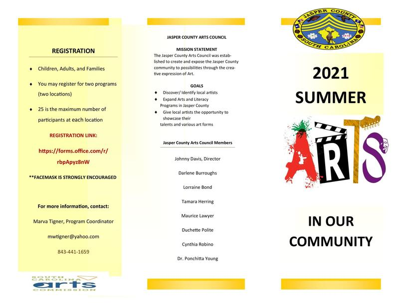 Summer Arts In Our Community Featured Photo
