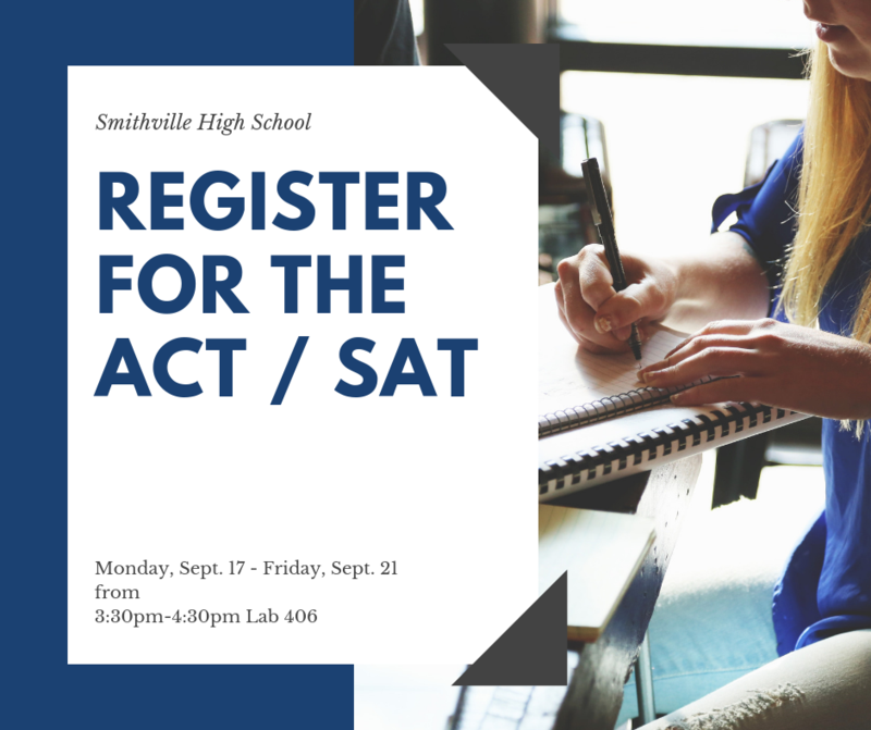 Register for the ACT & SAT Thumbnail Image
