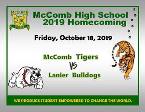 McComb High School Homecoming News 2019