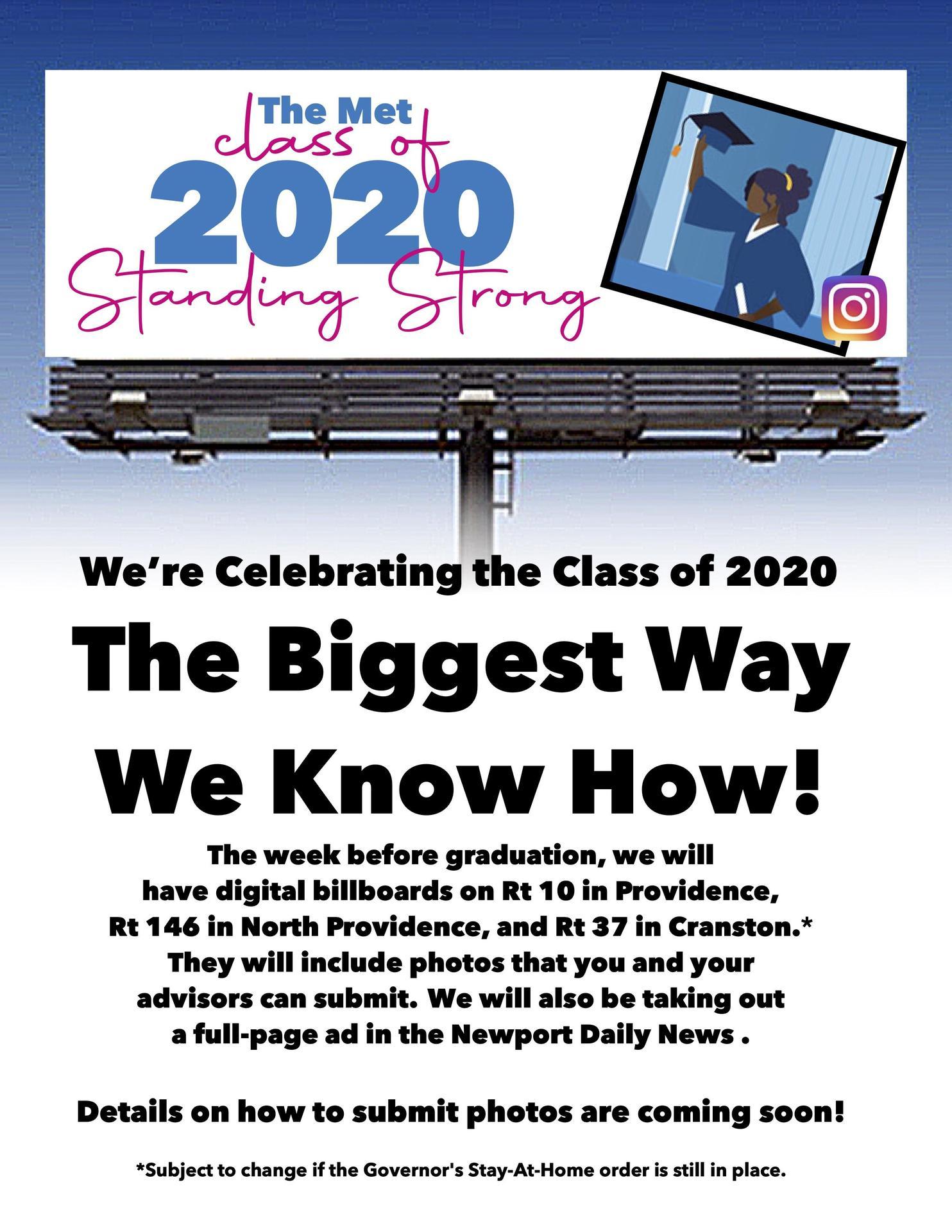 Graduation Billboard