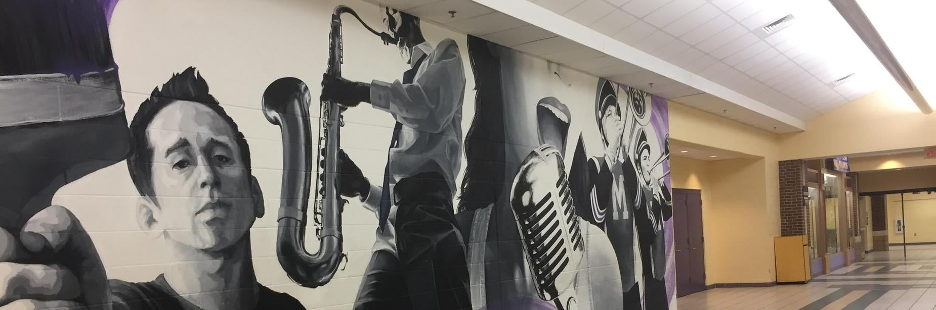 mhs fine arts mural