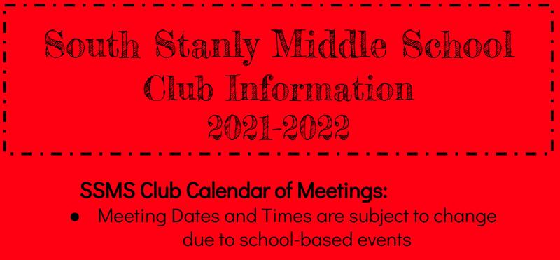 SSMS Club Calendar Featured Photo
