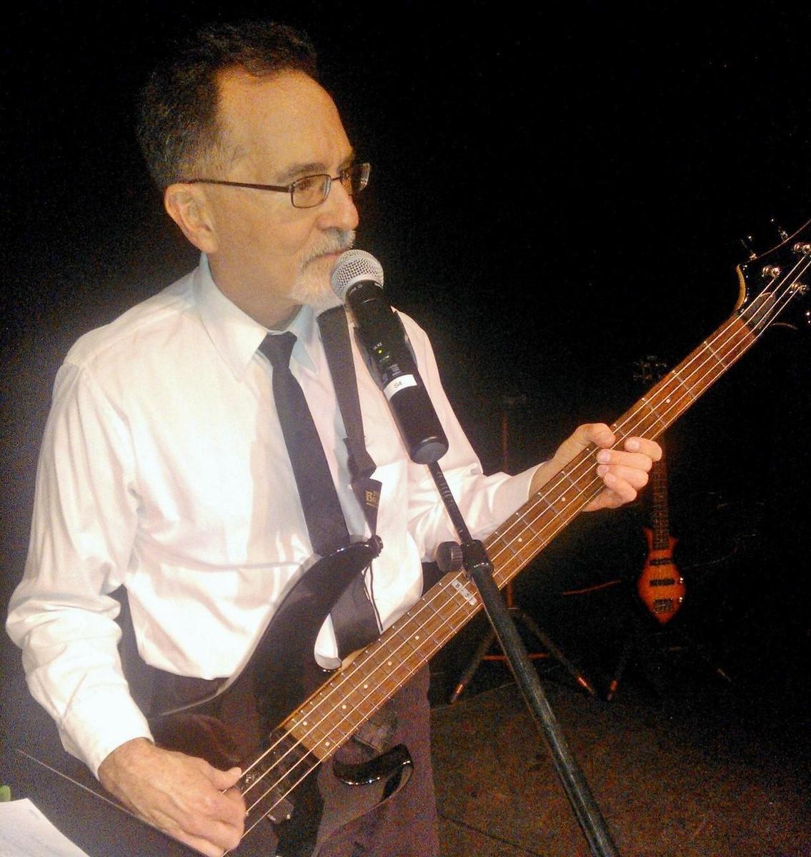 donald tharp on bass