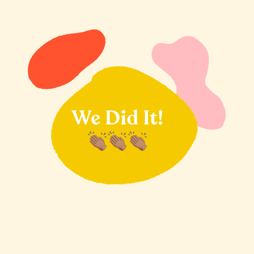 We did it!