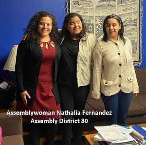 Assemblywoman Nathalia Fernandez Assembly District 80