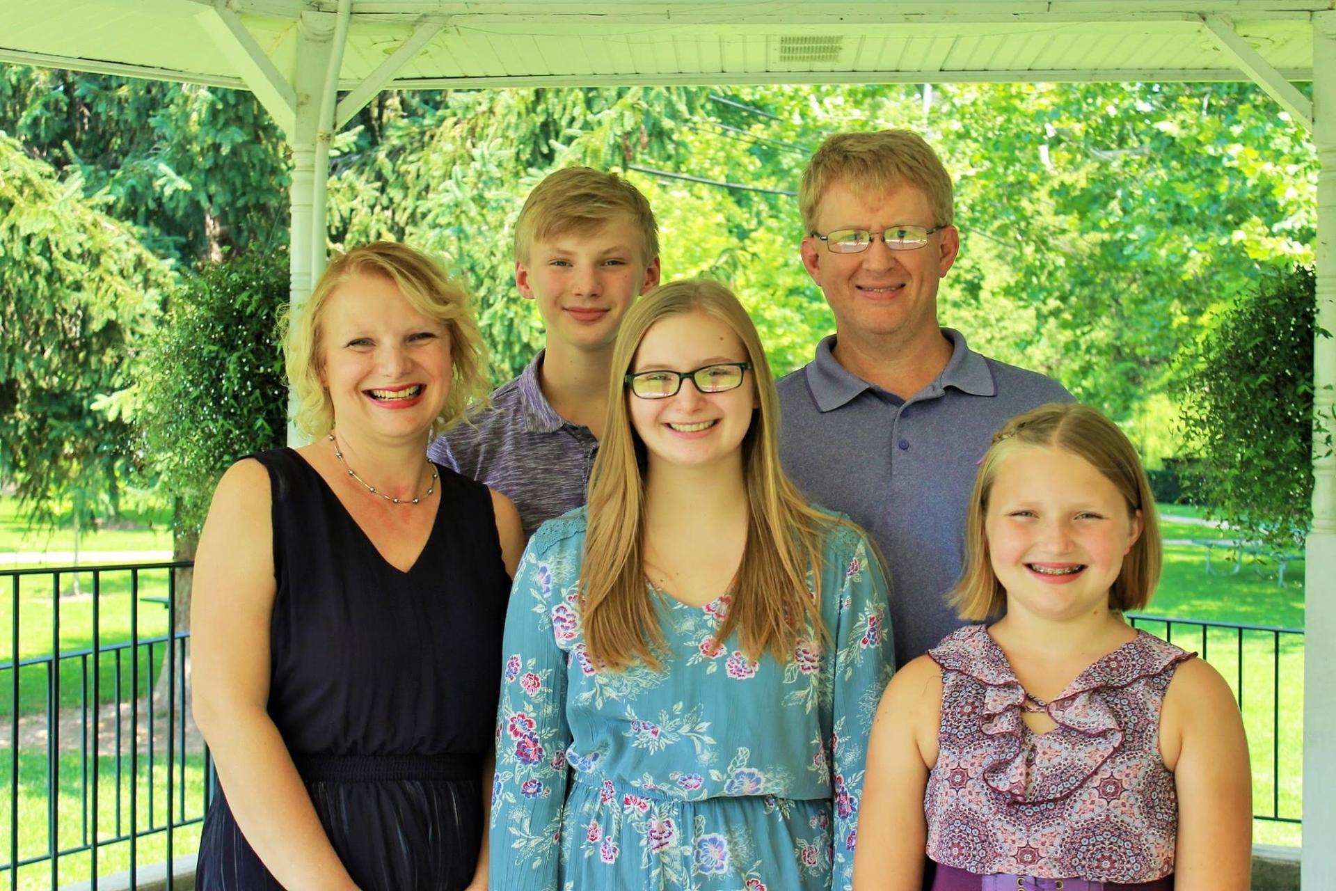 Mrs. Ray's Family