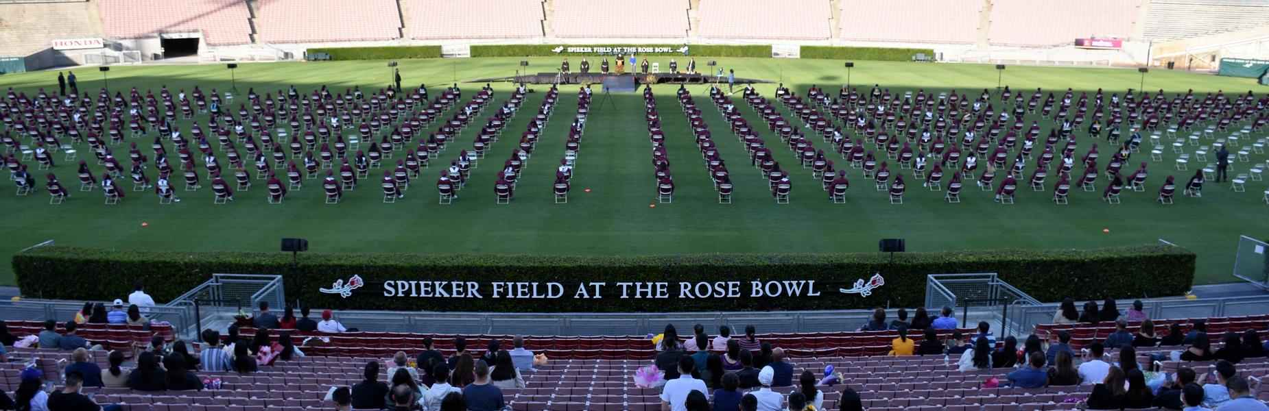 Audience POV at the Rose Bowl