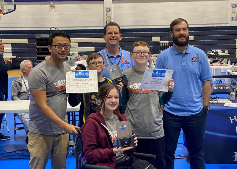 VEX Robotics Club Starts Strong at Nationals Featured Photo