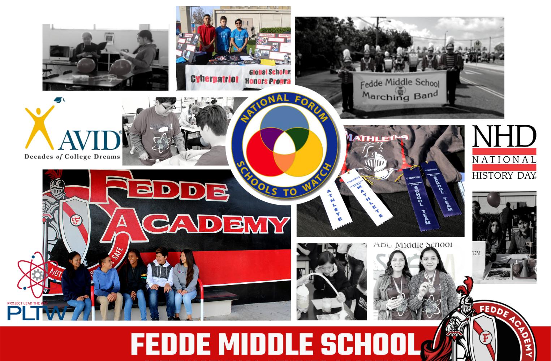 Fedde AVID students