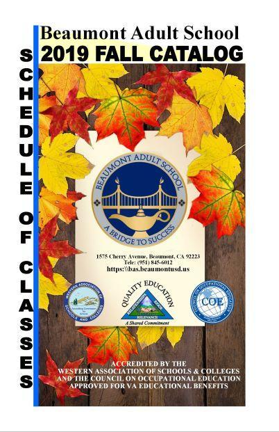 Picture of Fall Catalog 2019 cover page