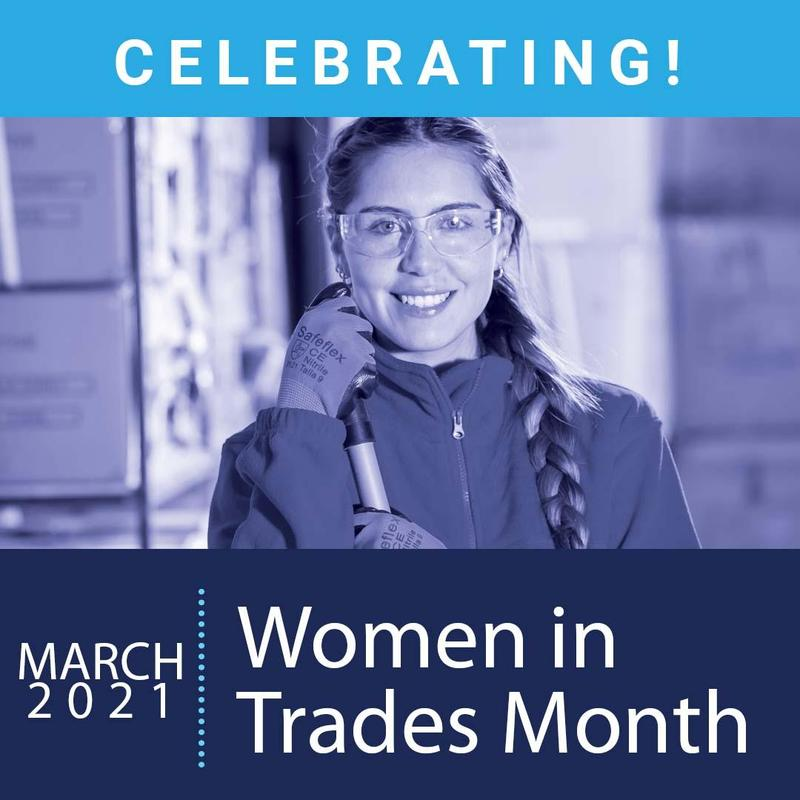Construction woman - women in trades