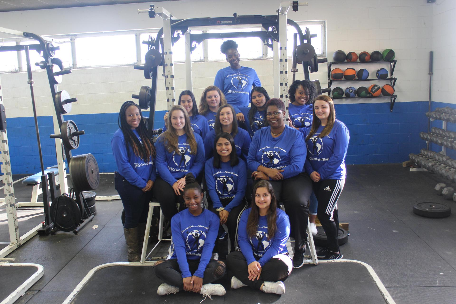 2019 Girls weightlifting
