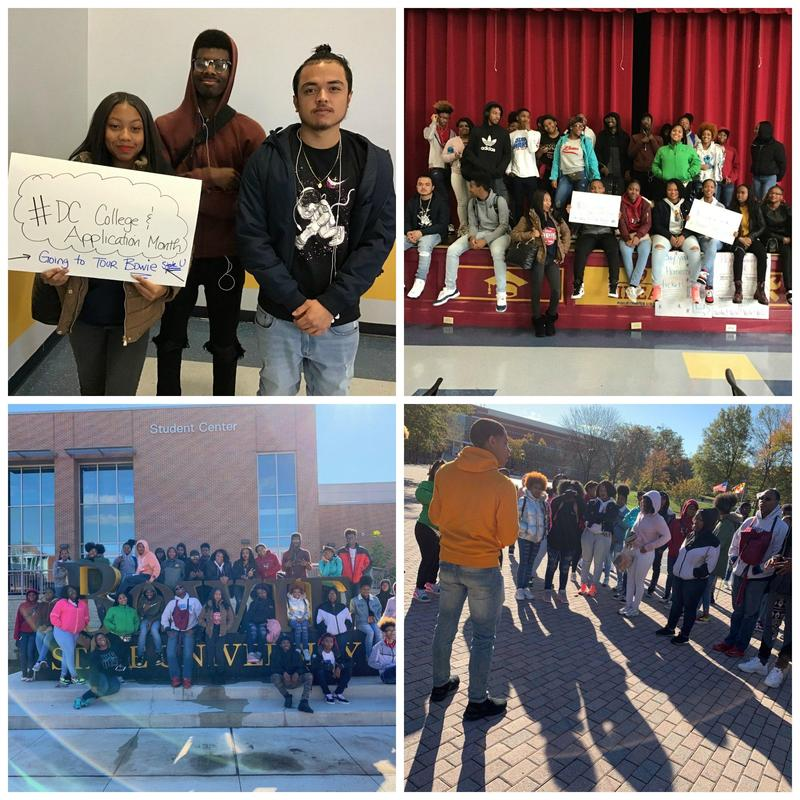 Seniors Kick Off College Month with Bowie State Trip Thumbnail Image