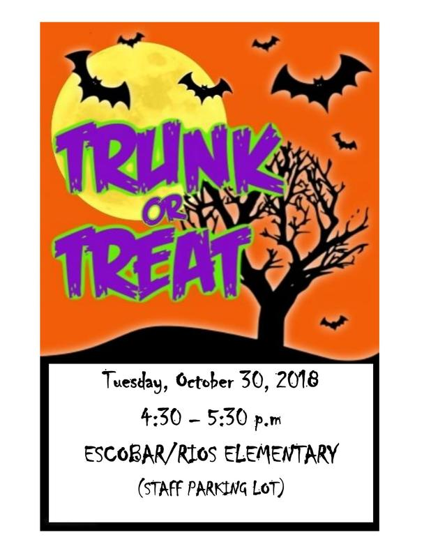 Escobar/Rios Elementary Trunk or Treat Featured Photo