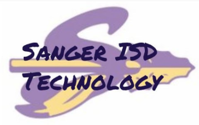 Sanger ISD Technology Logo