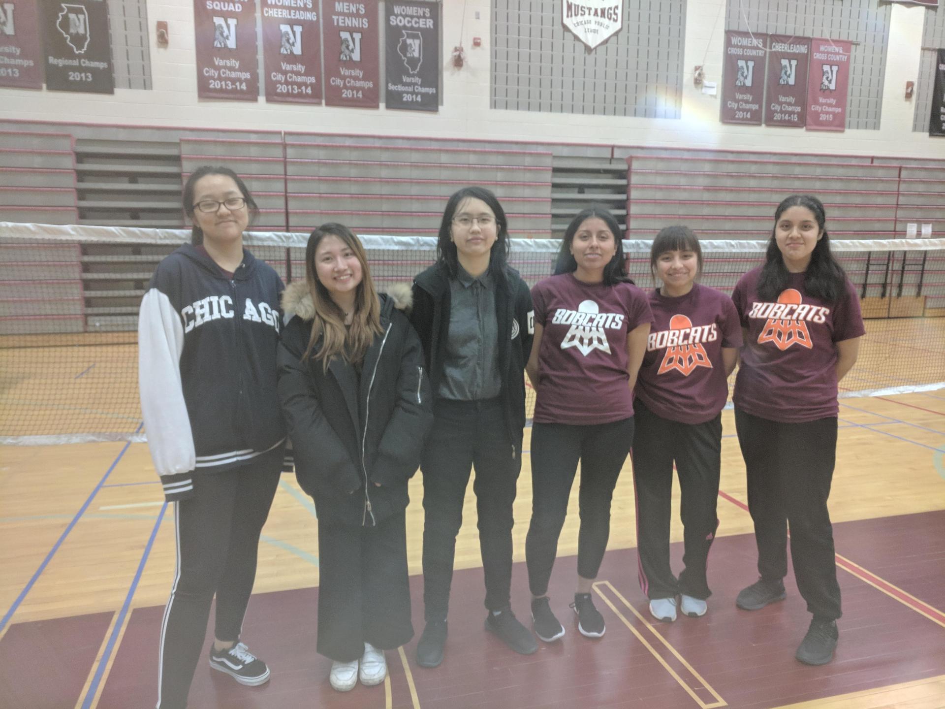 Some Members of Badminton Team 2019