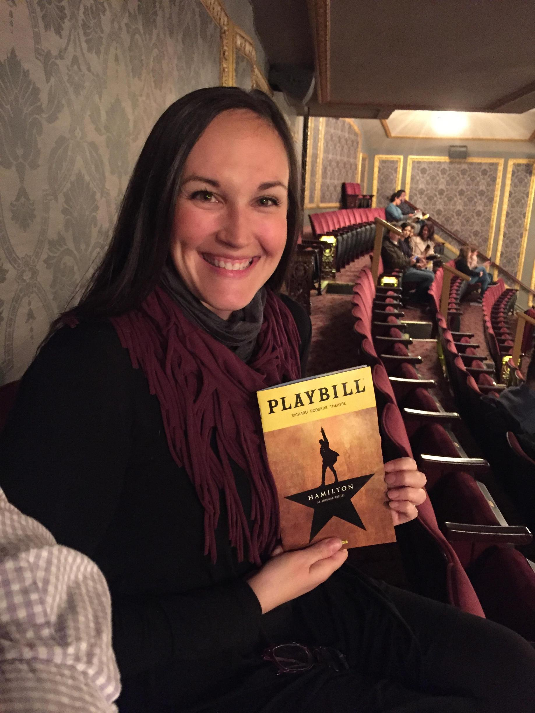Hamilton in NYC!