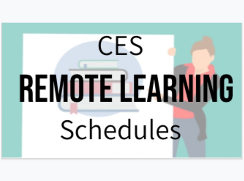 Remote Learning Schedules Image