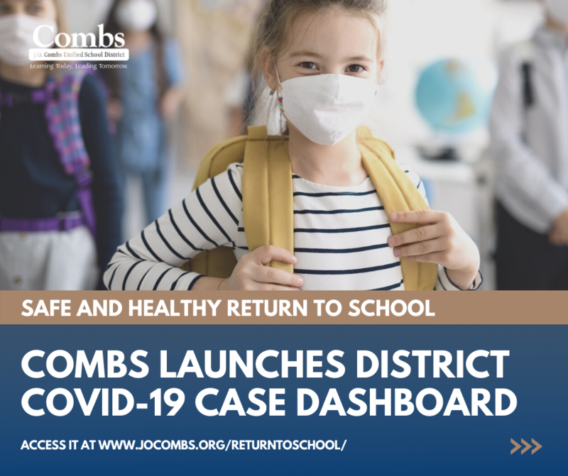 District Launches COVID Dashboard Featured Photo