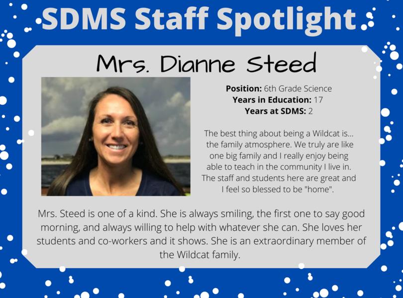 Staff Spotlight - Dianne Steed