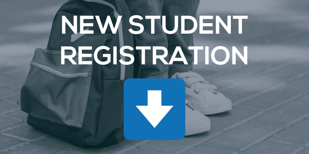 new student registration title