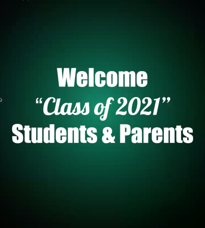 Recording of Senior Class Graduation Meeting held on 5-20-2021 Thumbnail Image