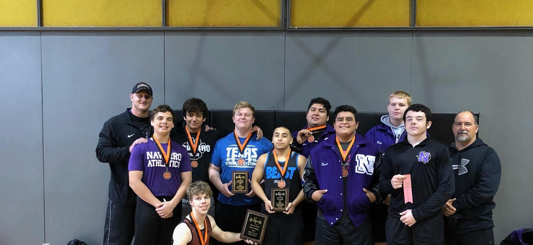 Boys Powerlifting Team