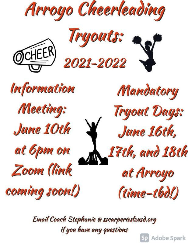 Cheer Tryout Information Featured Photo