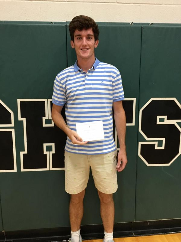 Senior, Jackson Stone, receives recognition from National Merit Scholarship Program Featured Photo