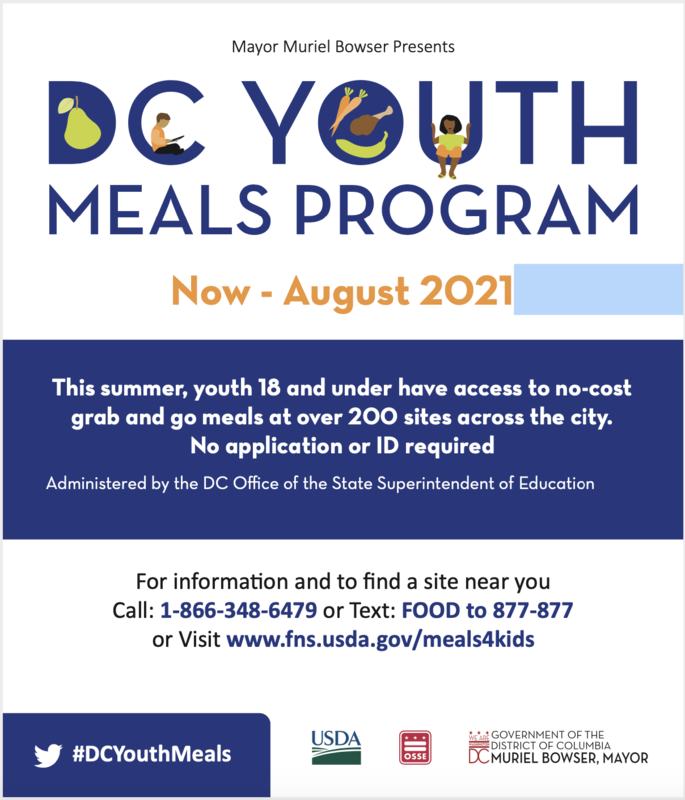 DC Youth Meal Program Featured Photo