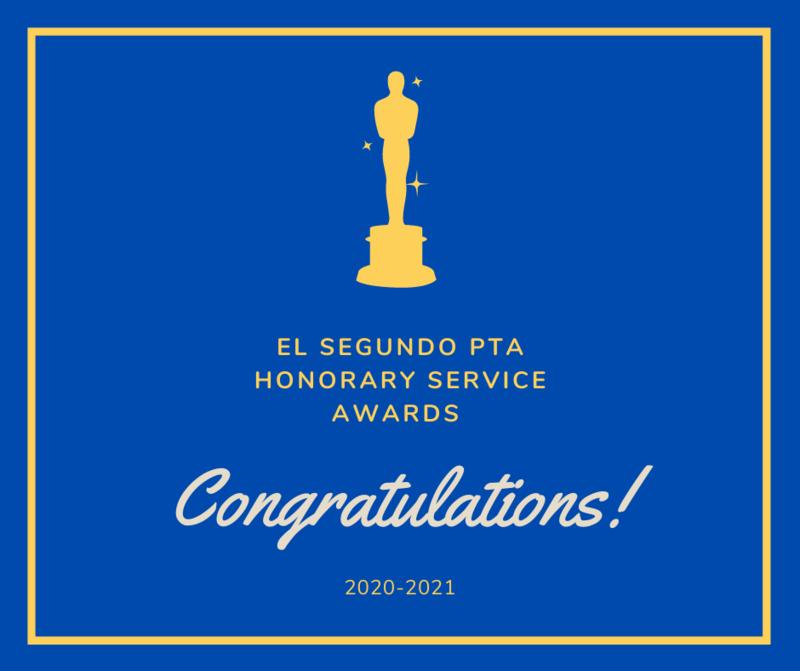 El Segundo PTAs Announce 2020-21 Honorary Service Award Recipients Featured Photo
