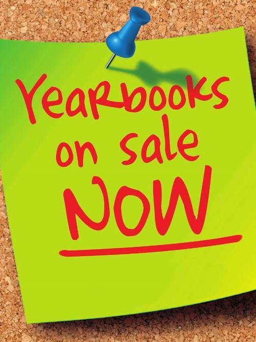 Middle School and High School Yearbooks on sale now! Featured Photo