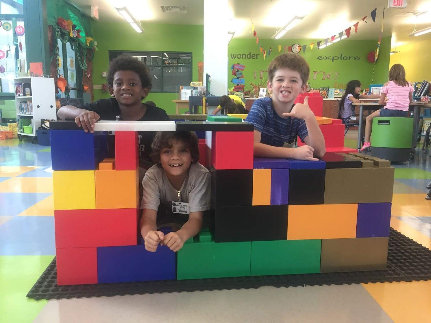 giant lego build