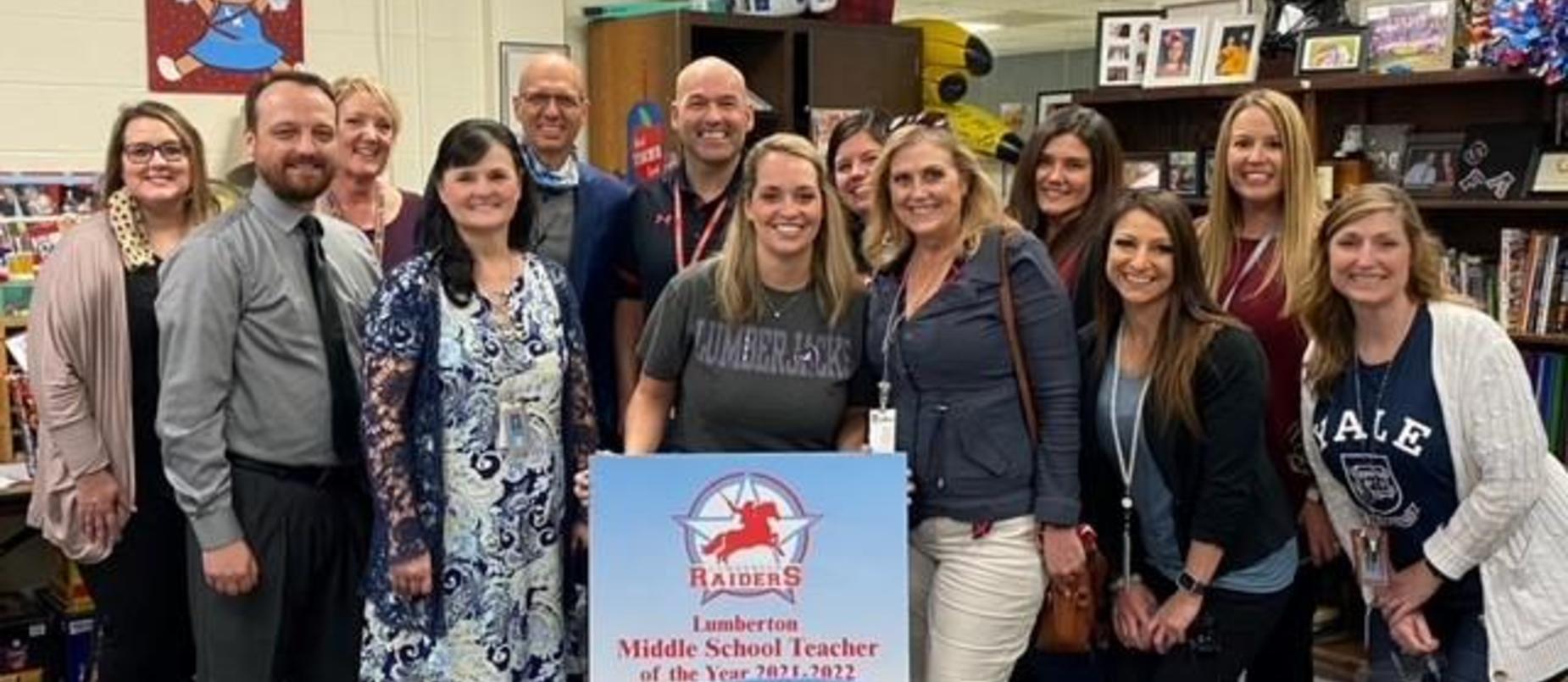 Congratulations Mrs. Hernandez!