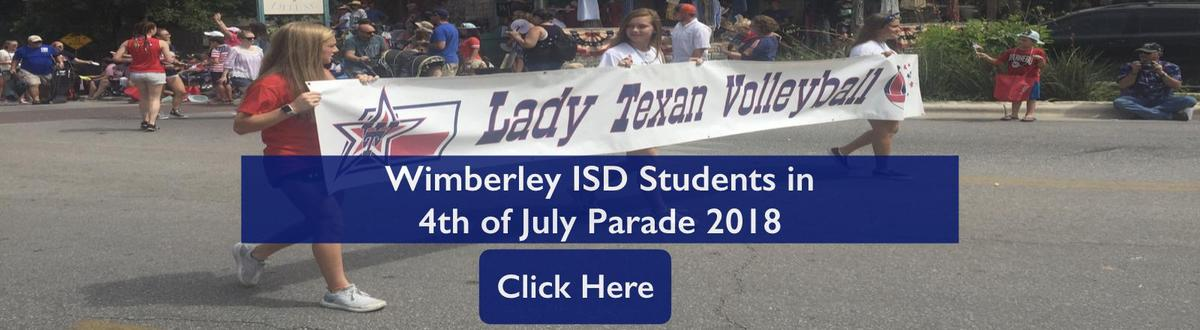 WISD Students in 4th of July parade album cover