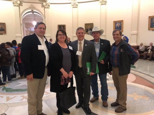 Burnet CISD Board Members Meet with Legislators Thumbnail Image