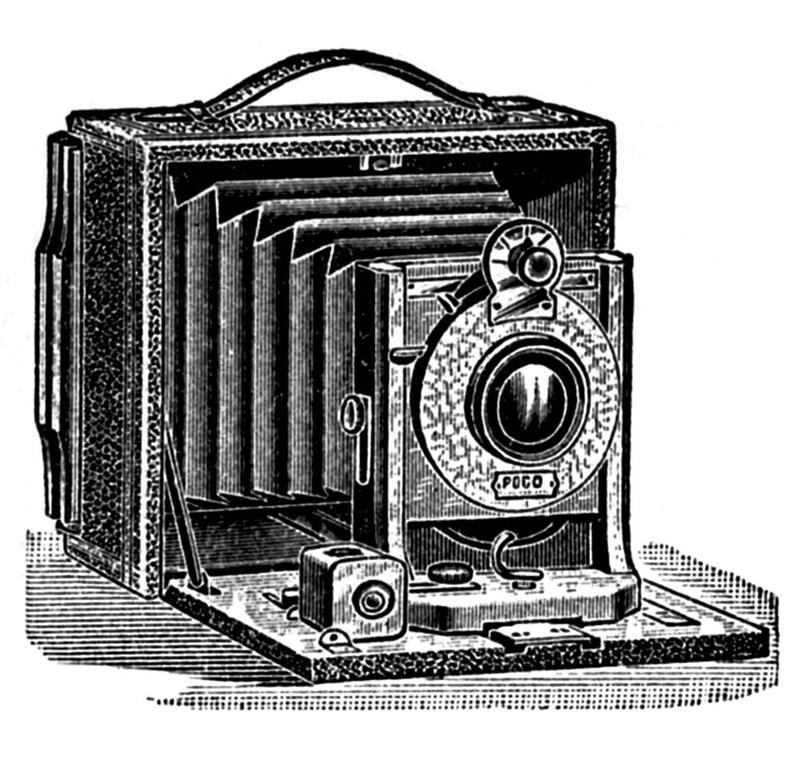 Icon of vintage camera