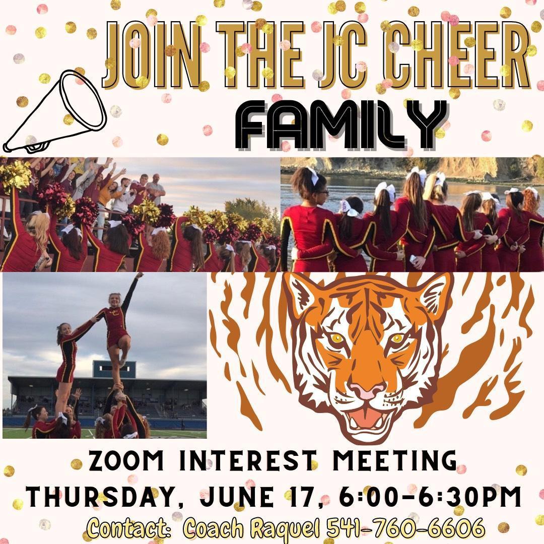 JCHS Cheer Flyer