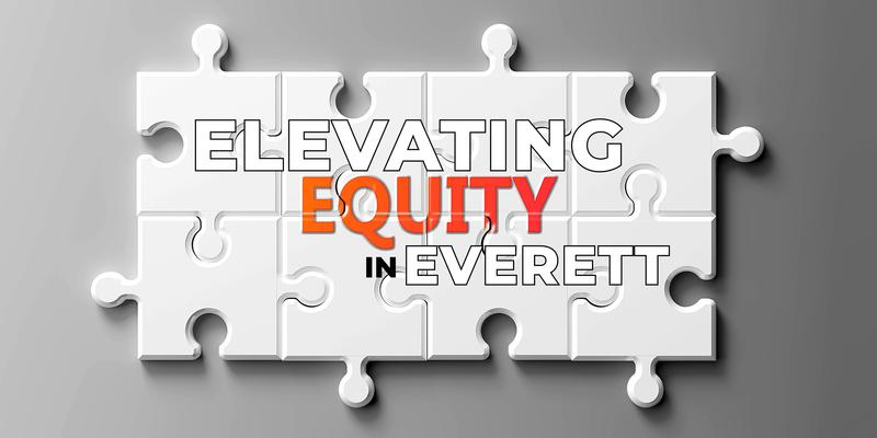 Equity complex like a puzzle - pictured as word Equity on a puzzle pieces to show that Equity can be difficult and needs cooperating pieces that fit together, 3d illustration