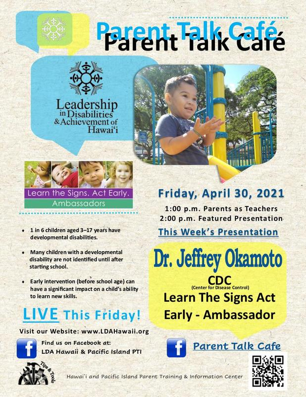 Parent Talk Café Featured Photo