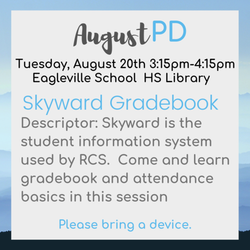 August PD
